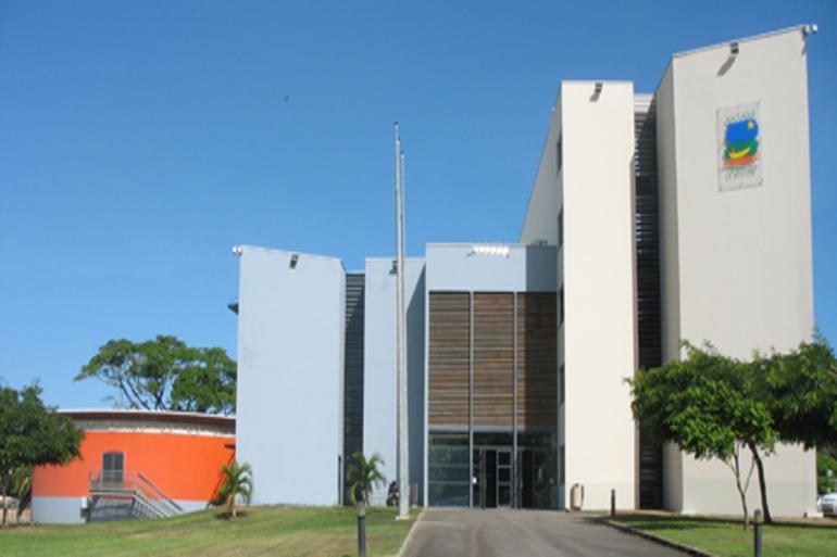 Le siège du Conseil régional de Guyane