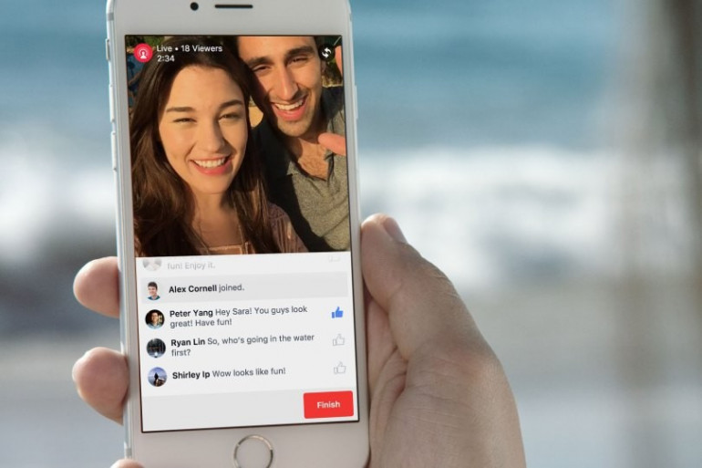 Facebook déploie progressivement la fonction Live Vidéo
