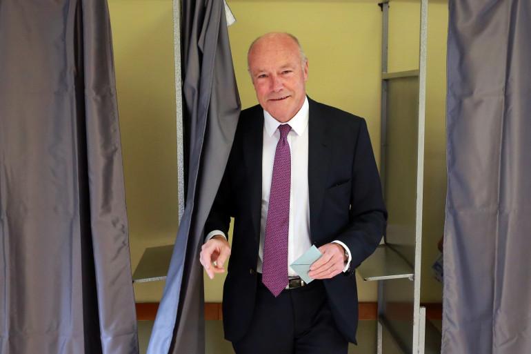 Alain Rousset, la tête de liste socialiste en Aquitaine-Limousin-Poitou-Charentes, le 6 décembre 2015 à Pessac.