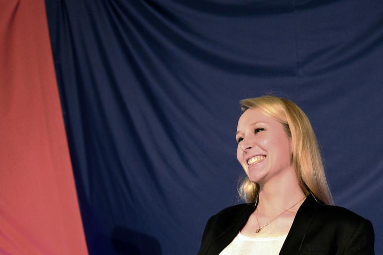 Marion Maréchal Le Pen après le 1er tour des régionales le 6 décembre