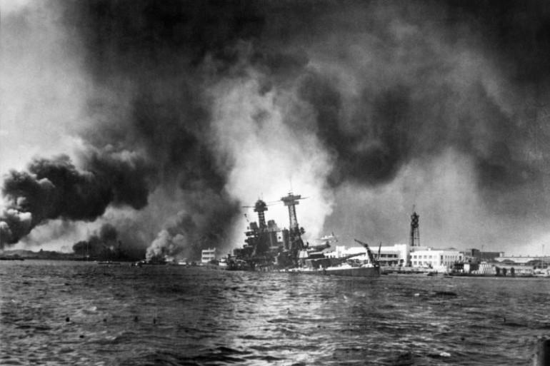 L'attaque contre Pearl Harbour a fait 2.500 morts américains et 1.200 blessés, le 7 décembre 1941