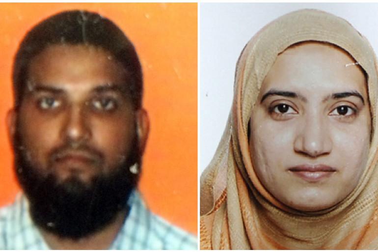 Farook Syed et sa femme Tashfeen Malik ont tué 14 personnes la semaine dernière en Californie.