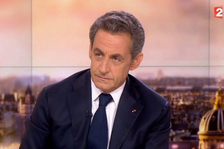 Nicolas Sarkozy était au journal de France 2 lundi soir