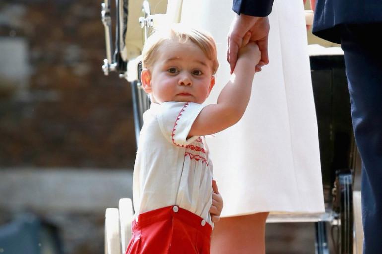 Le prince George est surexcité à l'approche de Noël, raconte le prince William