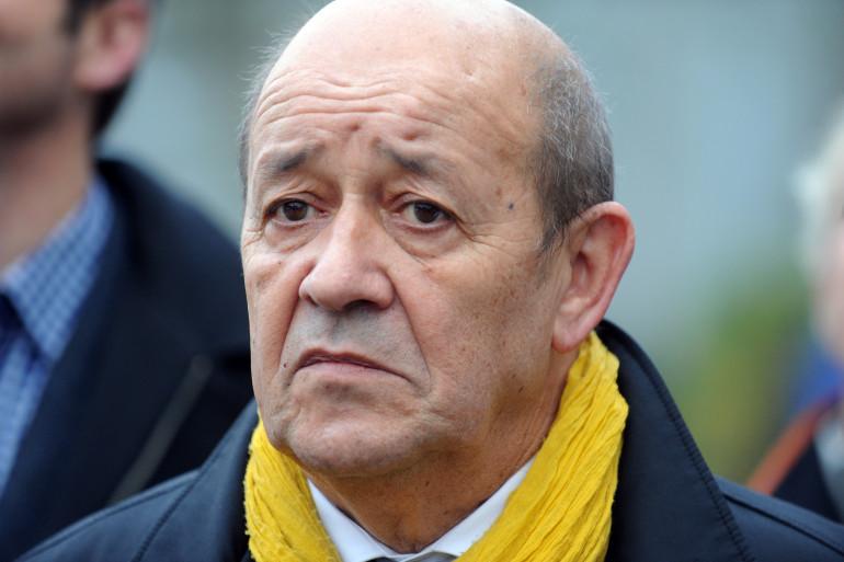 Jean-Yves Le Drian le 7 décembre 2015 à Concarneau.