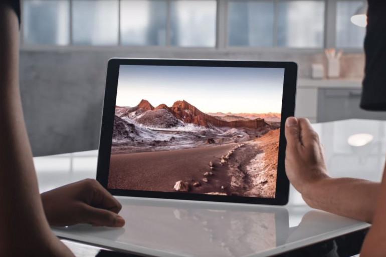 L'écran de l'iPad Pro affiche 12,9 pouces de diagonale