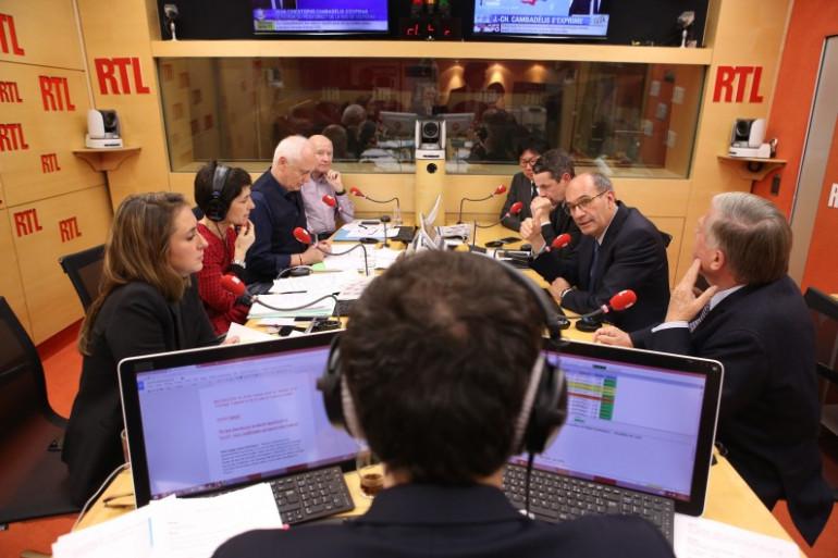 Marc-Olivier Fogiel a mené la soirée spéciale consacrée au second tour des régionales sur RTL, le 13 décembre 2015