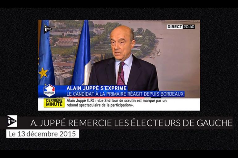 Alain Juppé le 13 décembre 2015