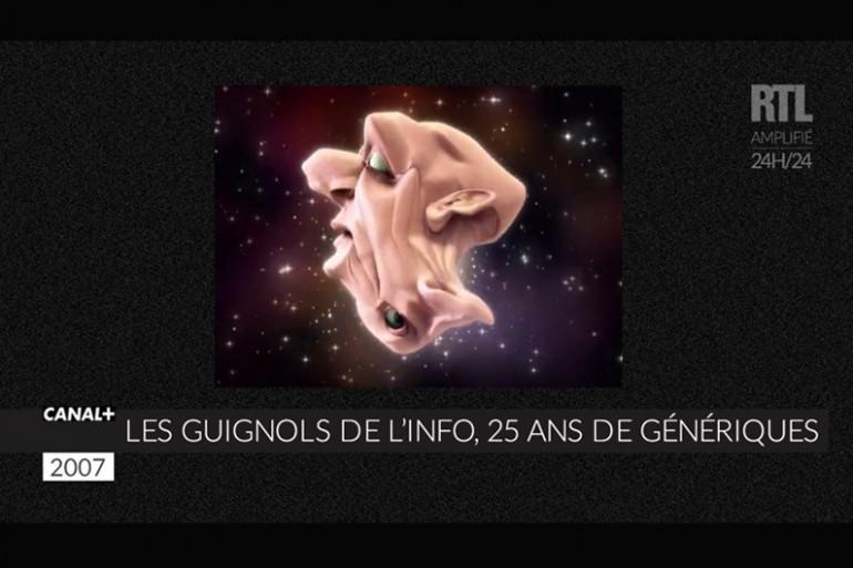 """ZAPPEUR - 25 ans de génériques des """"Guignols"""""""