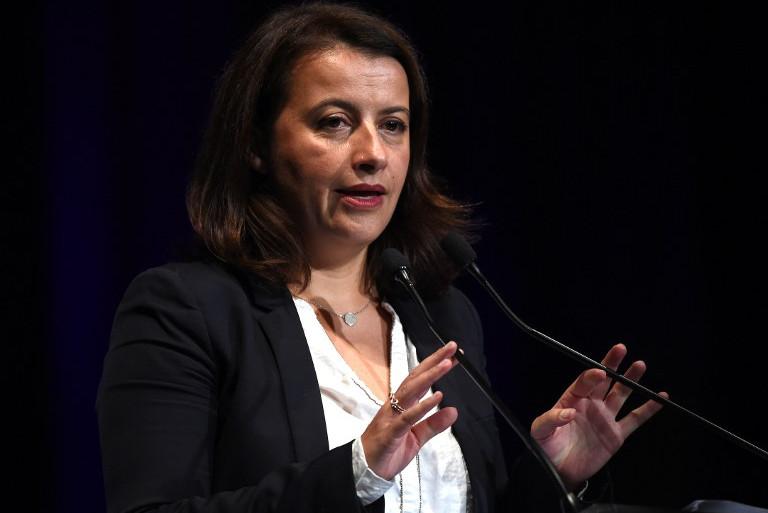 Co-présidente du parti EELV Cécile Duflot (archive)