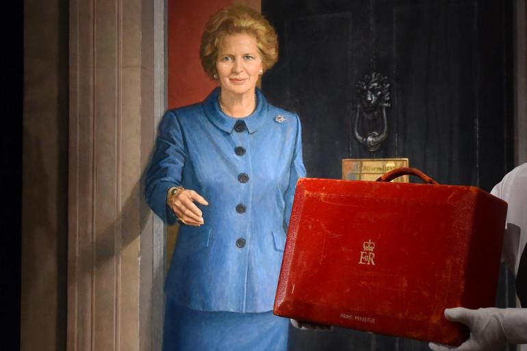 La valise rouge de Margaret Thatcher