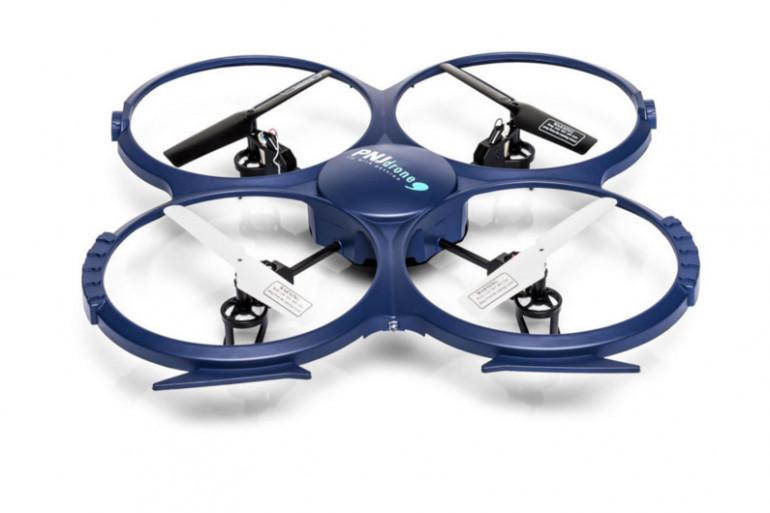 Le Discovery Drone est un quadricoptère