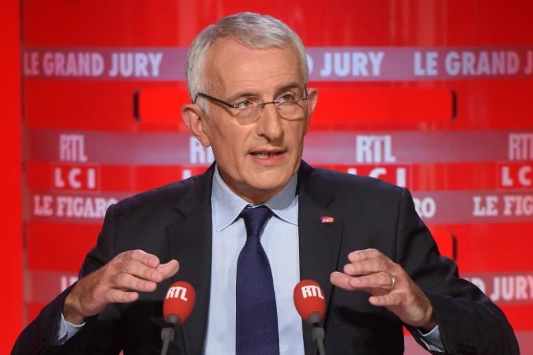 """Guillaume Pepy était l'invité du """"Grand Jury"""" sur RTL, dimanche 20 décembre 2015"""