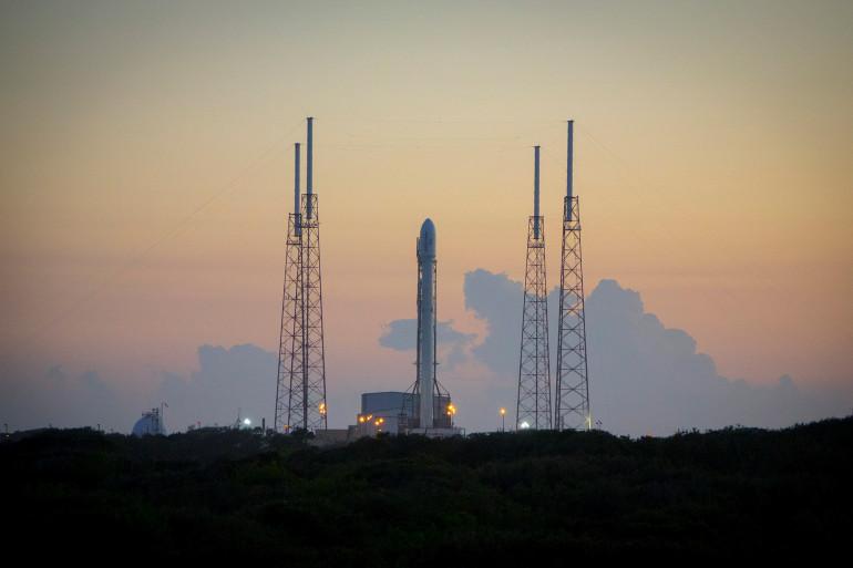 La fusée Falcon 9, le 20 décembre 2015