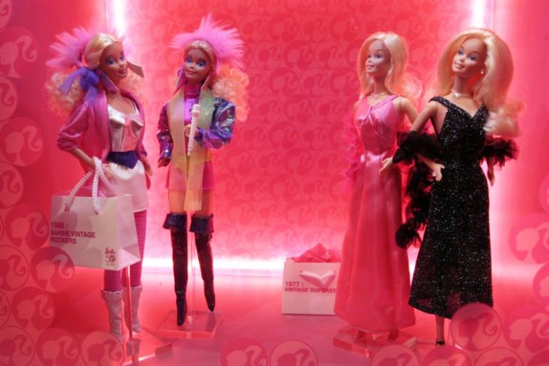 Trois poupées Barbie sont achetées chaque seconde sur la planète