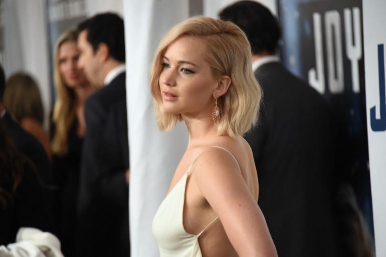 """Jennifer Lawrence à la première de """"Joy"""" à New-York, le 13 décembre 2015 (archives)."""