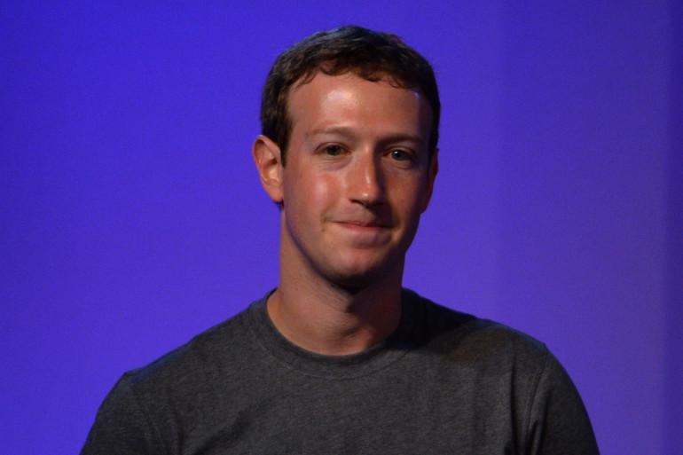 Mark Zuckerberg à New Delhi en octobre 2014
