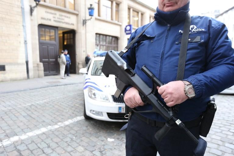 La police belge est mobilisée pour prévenir les attentats le soir du réveillon (illustration)