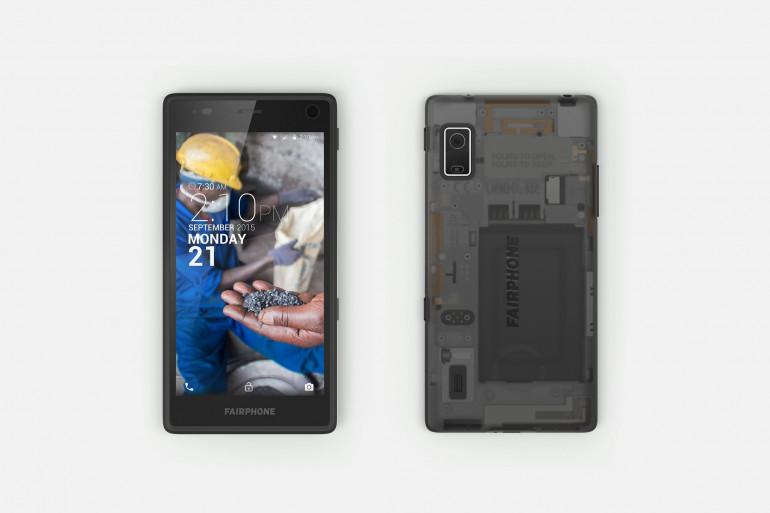 Le Fairphone 2 a été lancé le 9 décembre 2015