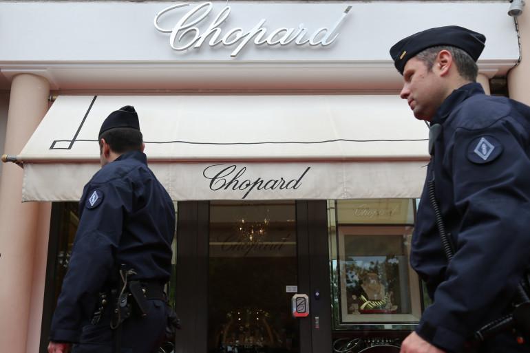 Une bijouterie Chopard à Cannes le 17 mai 2013 (Illustration).