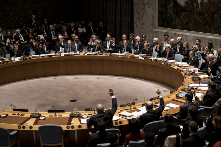 Le Conseil de sécurité de l'ONU (illustration)