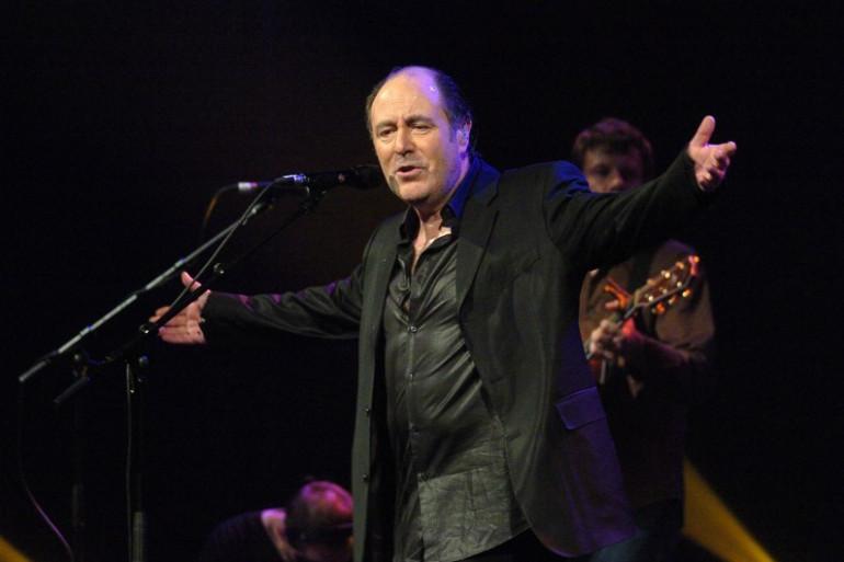 Michel Delpech en concert au Bataclan, à Paris le 7 février 2005