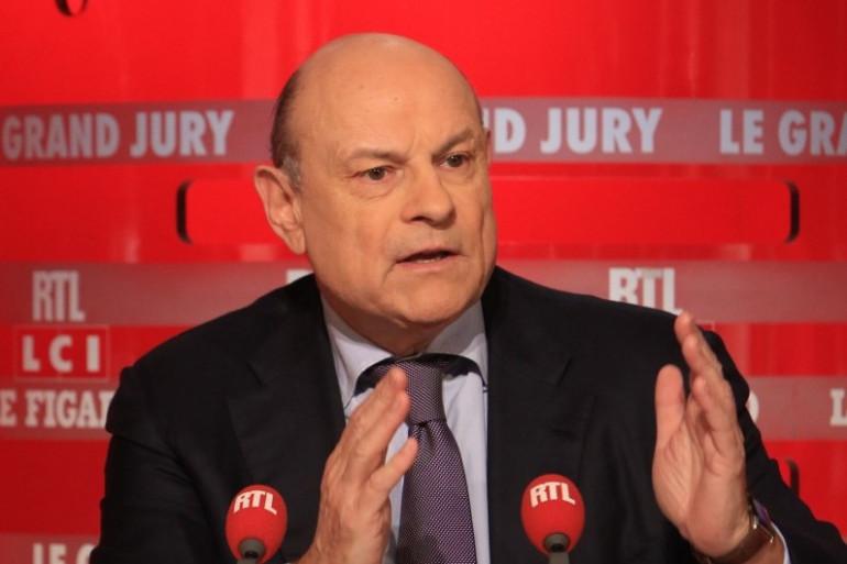 """Jean-Marie Le Guen, invité du """"Grand Jury"""" sur RTL, le 3 janvier 2016"""