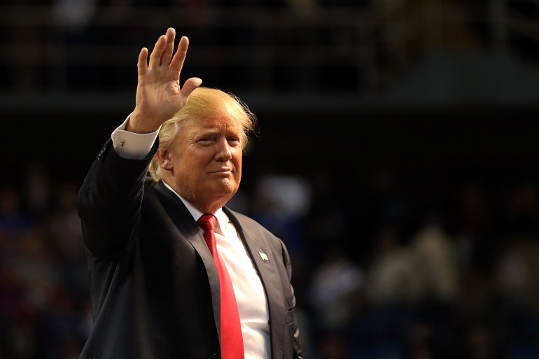 Donald Trump, le 2 janvier 2016