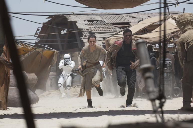"""Rey et Finn sont les héros de la nouvelle trilogie """"Star Wars"""""""