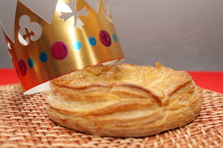 Une galette des rois (illustration)