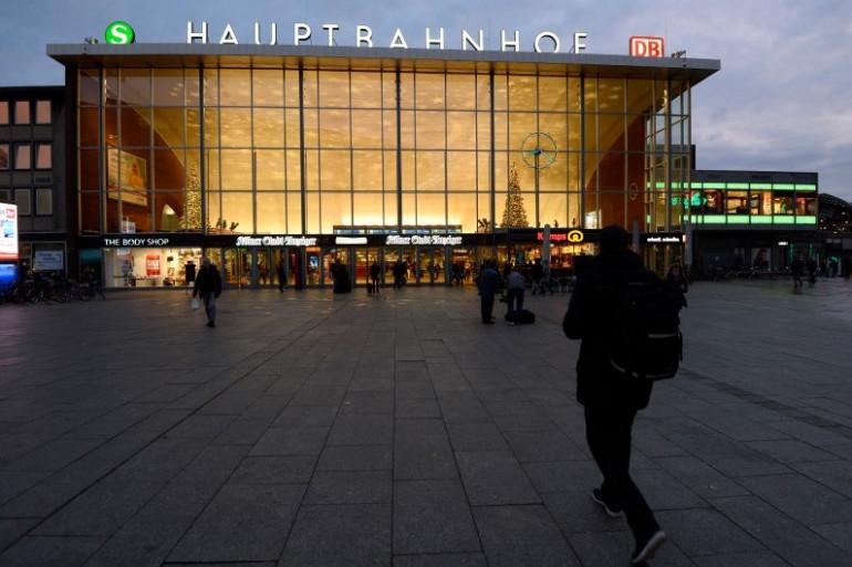 La gare de Cologne photographiée le 7 janvier 2016