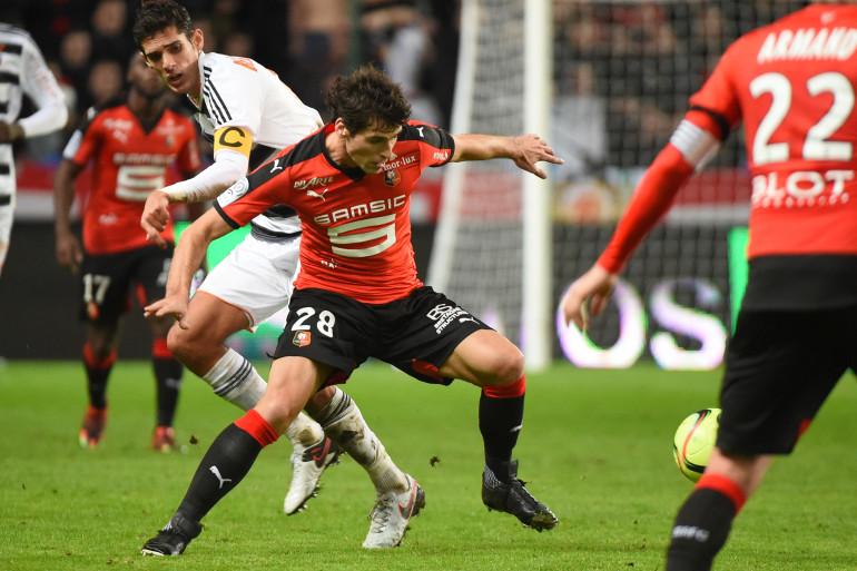 Yoann Gourcuff a retrouvé les terrains le 9 janvier 2016 avec Rennes