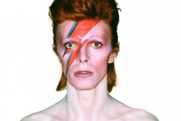 Ziggy Stardust, alias David Bowie.