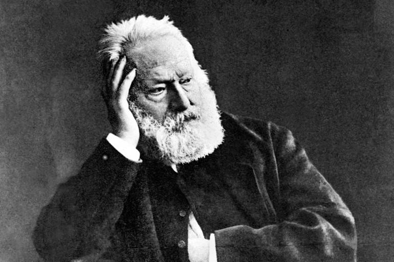 Victor Hugo sur un portrait daté de 1880