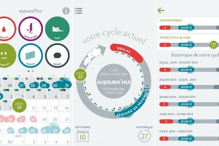 """""""Clue"""", une application pour mieux comprendre le cycle menstruel"""