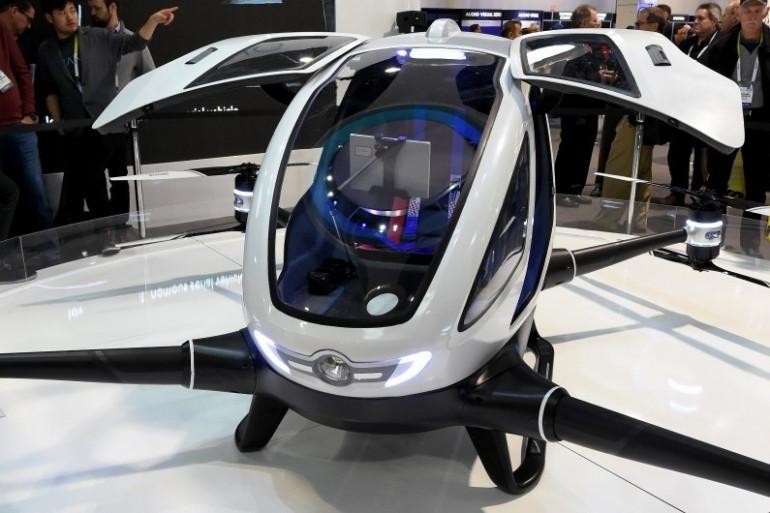 Le EHang 184 a été dévoilé lors du CES 2016 de Las Vegas