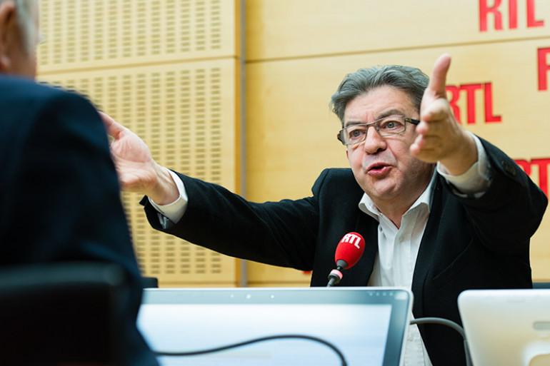 Jean-Luc Mélenchon, invité de RTL, le 14 janvier 2016