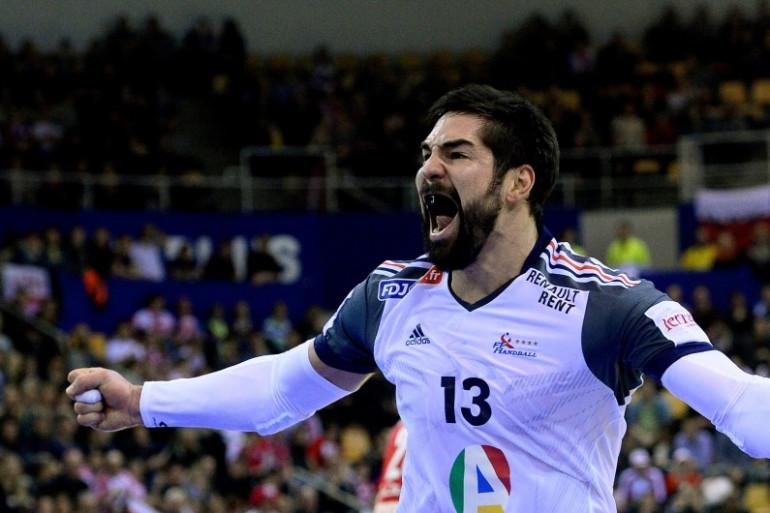Nikola Karabatic, vedette de l'équipe de France de handball