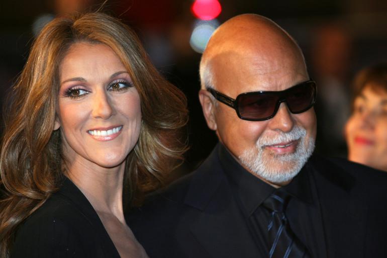Céline Dion et son mari René Angélil