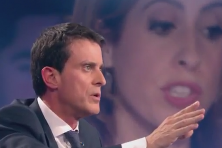 Manuel Valls dans On n'est pas couché samedi 16 janvier
