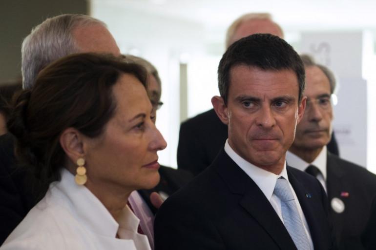 Ségolène Royal et Manuel Valls le 15 juillet 2015