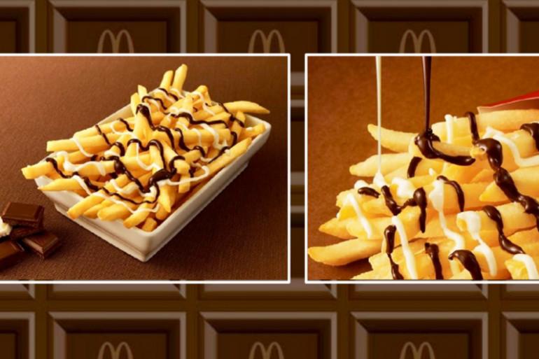 Au Japon, McDonald's va lancer des frites au chocolat