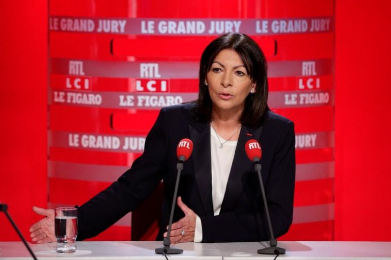 Anne Hidalgo était l'invitée du Grand Jury