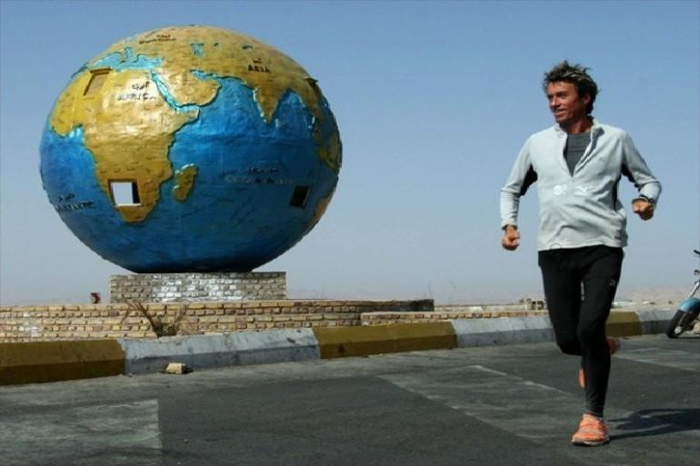 Serge Girard va faire le tour du monde en courant.