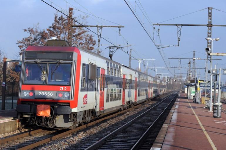 Un RER en région parisienne (image d'illustration).