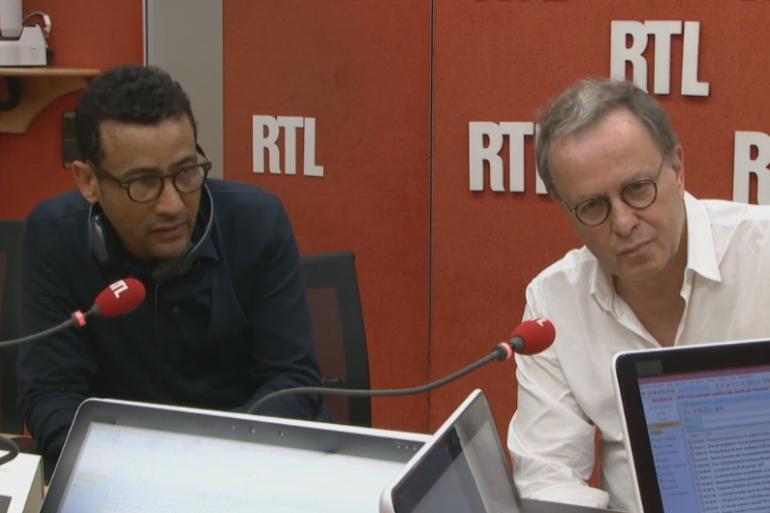 François Margolin et Lemine Ould Salem, invités de RTL lundi 25 janvier