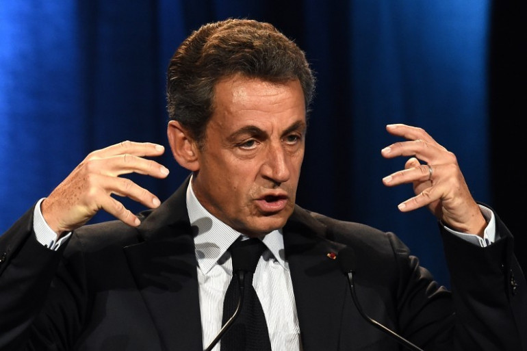 Nicolas Sarkozy à Nîmes, le 20 janvier 2016