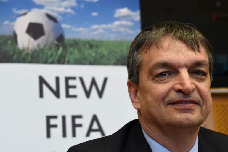 Jérôme Champagne, l'un des cinq candidats à la tête de la FIFA