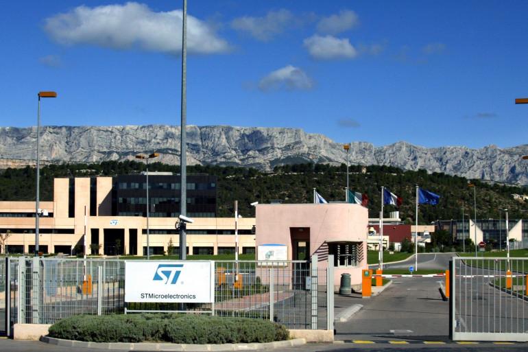 Le site de STMicroelectronics à Rousset, dans les Bouches-du-Rhône