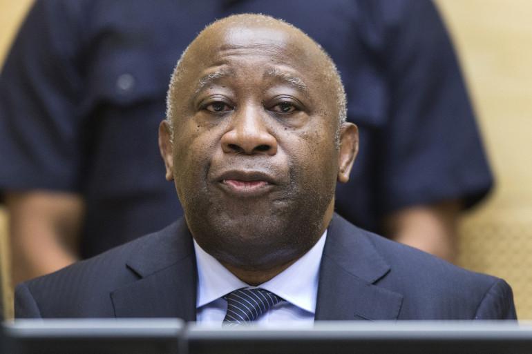 Laurent Gbagbo à la CPI, à La Haye aux Pays-Bas, le 19 février 2013.
